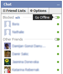 Block Facebook Chat Block Friends from The Facebook Chat