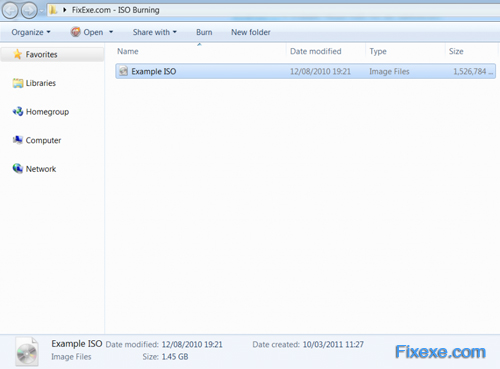 Burn ISO File in Windows 7 How To Burn A ISO File With Windows 7