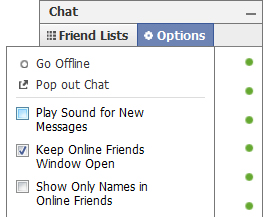 Play Sound for New Facebook Message Stop Facebook Chat Download a Sound File Popups