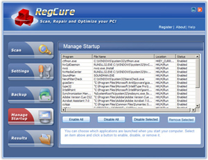 RegCure Best 5 Registry Fix and Repair Tools