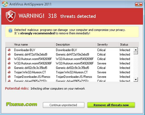 The Antivirus AntiSpyware 2011 Best Way To Remove The Antivirus AntiSpyware 2011 Virus