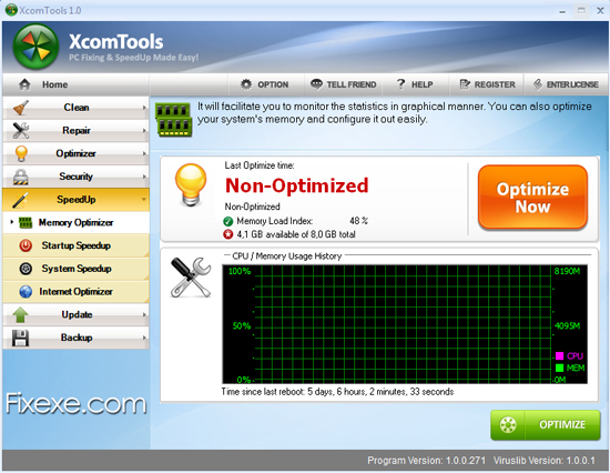XcomTools SpeedUp and Optimize PC XcomTools Review   Does it Really Fix and Speed Up Computer?