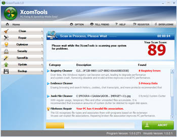 XcomTools Best 5 Registry Fix and Repair Tools
