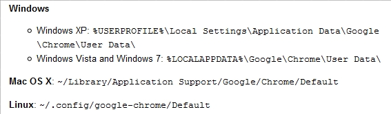 default location How to Fix 4 Common Google Chrome Errors
