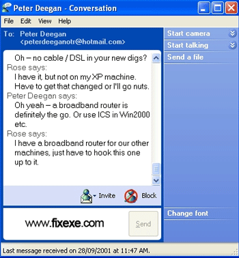 msn messenger Simply remove old MSN Windows Messenger