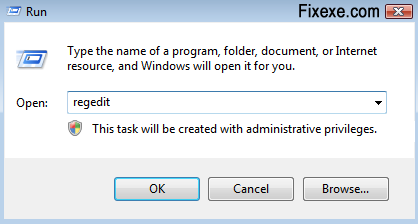 run regedit Uninstall programs that do not appear in the add or remove