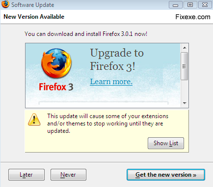 upgrade firefox 3 Can you open Hotmail in Firefox browser?