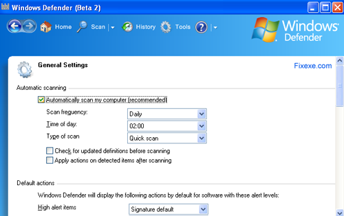 windows defender vista How to uninstall or remove Windows Defender in Vista