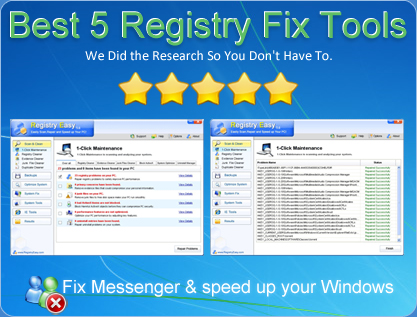 Registry Fix Tools