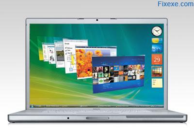 Notebook with Windows Vista